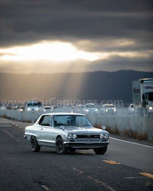 Nissan Skyline GTR Hakosuka Canvas Car Posters