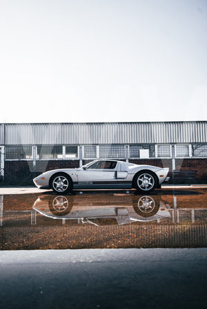 Ford GT canvas car posters