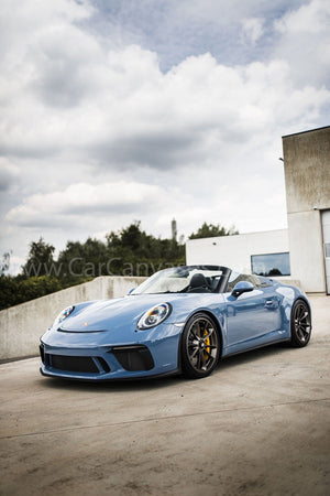 Porsche 911 (991) Speedster canvas car poster