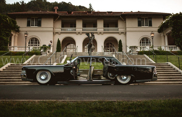 Bagged Lincoln Continental Canvas Car Posters