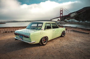Nissan Bluebird 1600 SSS Canvas Car Posters