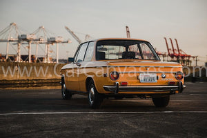 BMW 2002 Canvas Car Poster