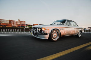 BMW 2800 CS (E9) Canvas Car Poster