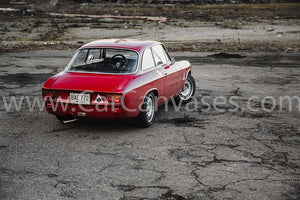 Alfa Romeo GTA 1600 Junior Canvas Car Poster