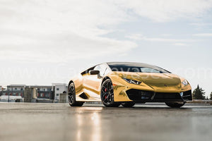 Gold Wrapped Lamborghini Huracan