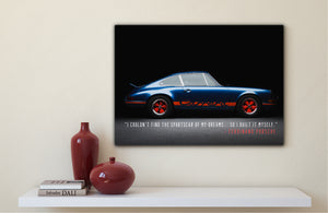 Porsche 911 Carrera 2.7 RS in Studio (Inspiration Series)