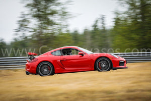 Porsche Cayman GT4 on Track
