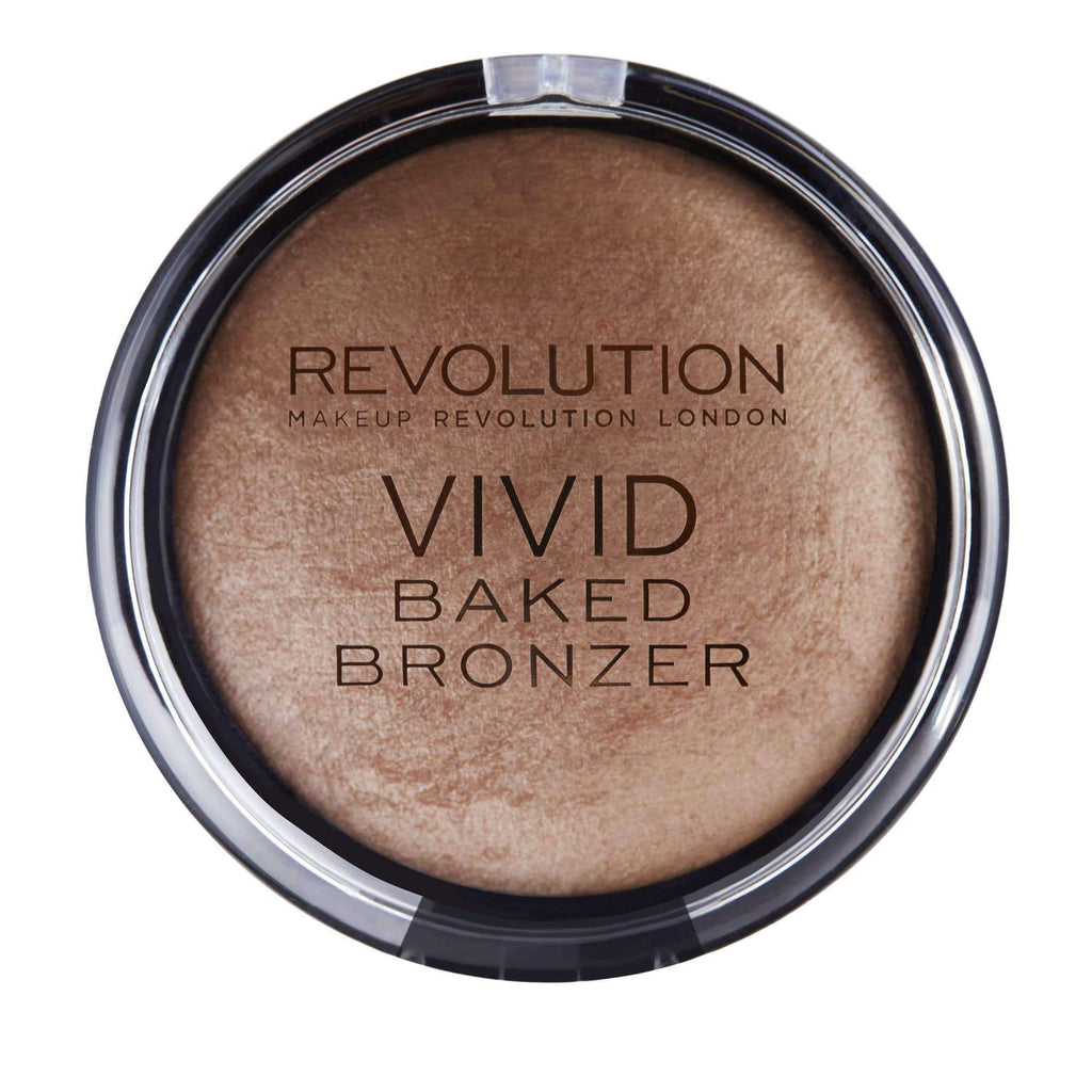 orabelca:Makeup Revolution - Vivid Baked Bronzer - Golden Days