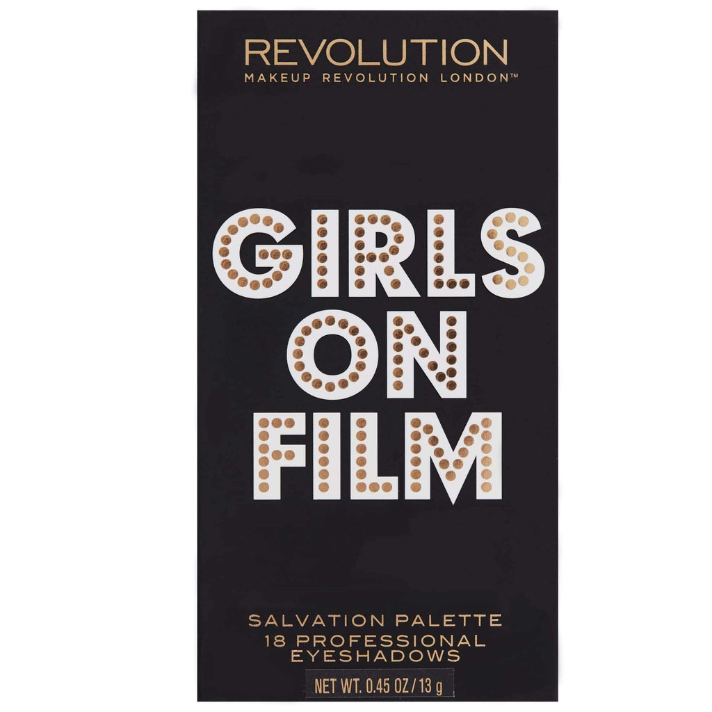 orabelca:Makeup Revolution - Salvation Palette - Girls On Film
