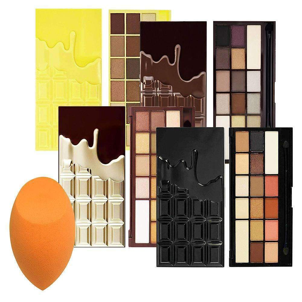 orabelca:Chocolate Overdose + Free Real Techniques Miracle Complexion Sponge
