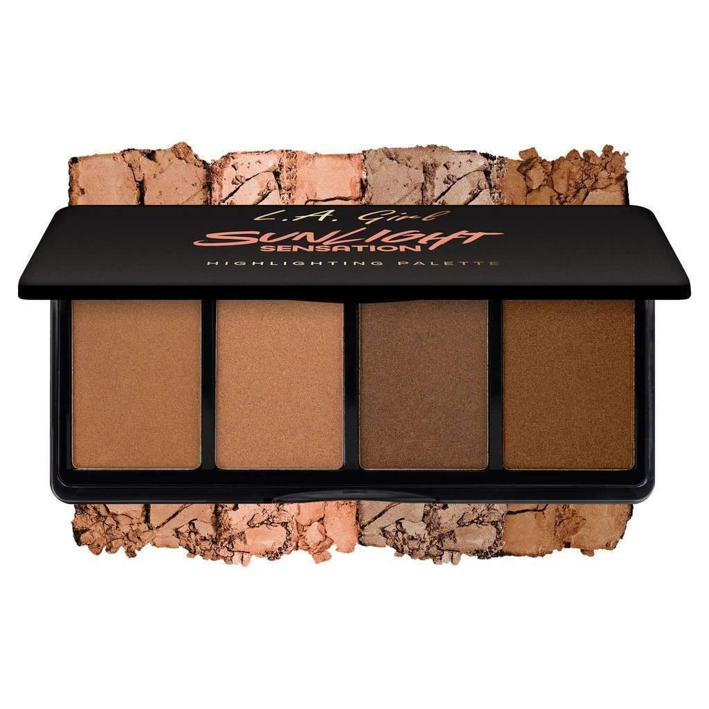 L.A. Girl Cosmetics Fanatic Highlighting Palette Sunlight Sensation