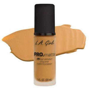 orabelca:L.A. Girl Pro Matte Foundation,Soft Honey