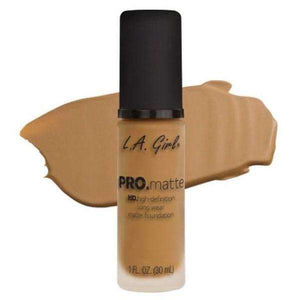 orabelca:L.A. Girl Pro Matte Foundation,Sand