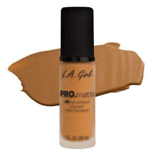 orabelca:L.A. Girl Pro Matte Foundation,Golden Bronze