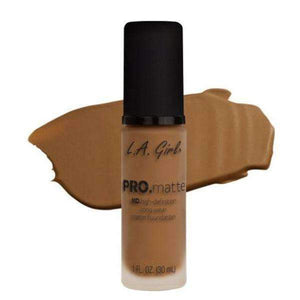 orabelca:L.A. Girl Pro Matte Foundation,Cafe