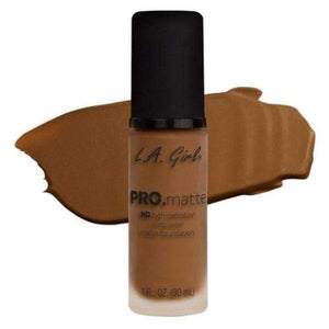 orabelca:L.A. Girl Pro Matte Foundation,Nutmeg