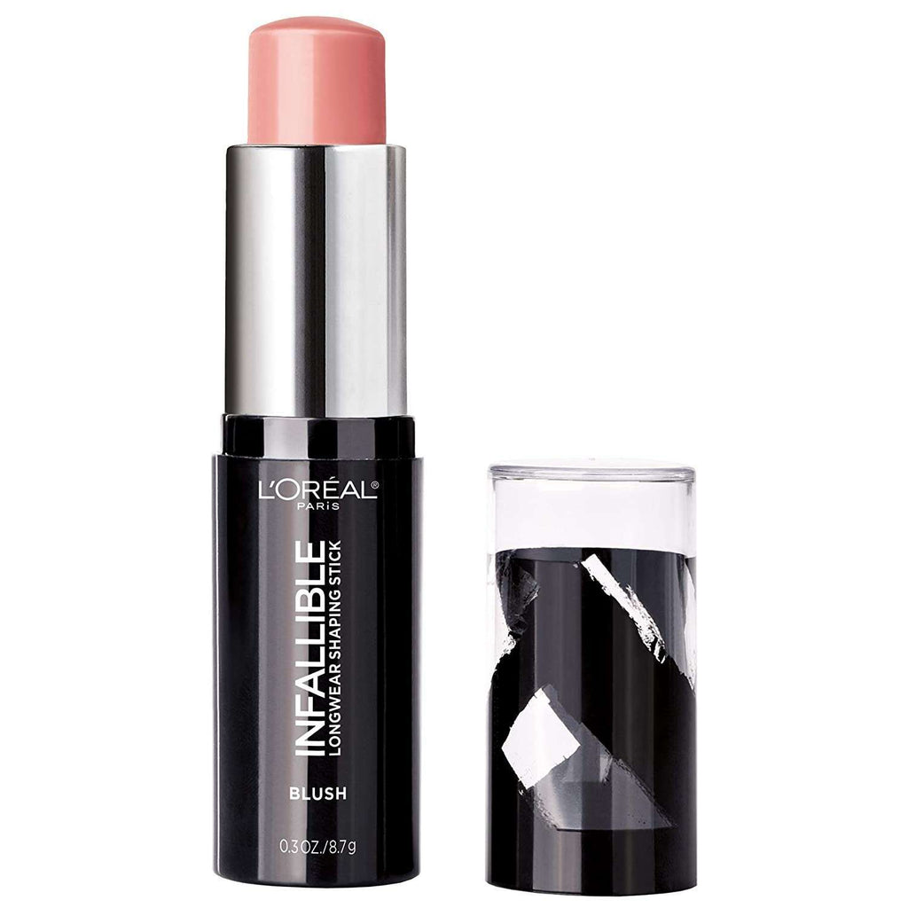 L'Oréal Paris Infallible Longwear Blush Shaping Stick, Sexy Flush