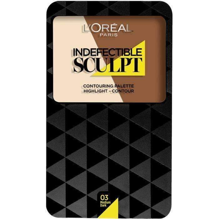 L'Oréal Paris Infallible Sculpt Indefectible Contouring Palette Medium Dark 03