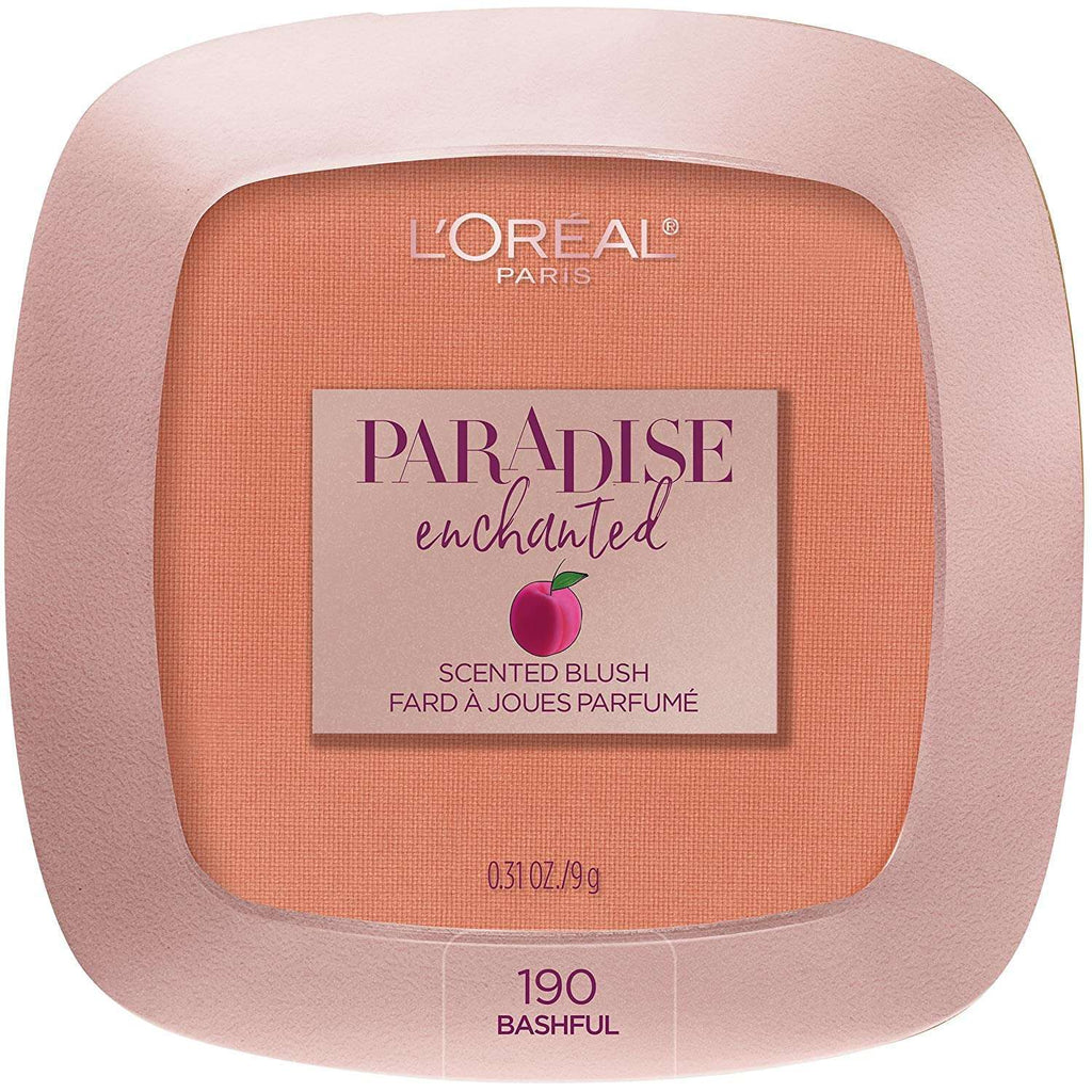 L'Oréal Paris Paradise Enchanted Fruit-Scented Blush Makeup Bashful