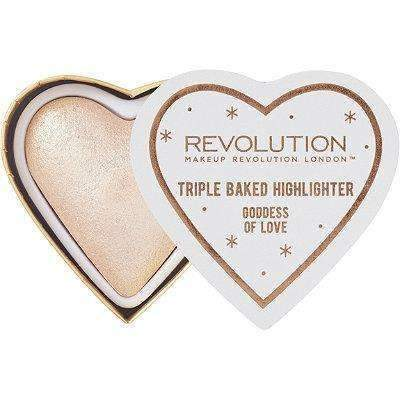 orabelca:Makeup Revolution - Triple Baked Highlighter,Goddess of Love