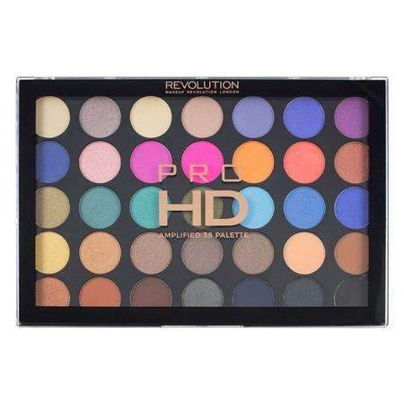 orabelca:Makeup Revolution HD Amplified 35 Palette - Defiant