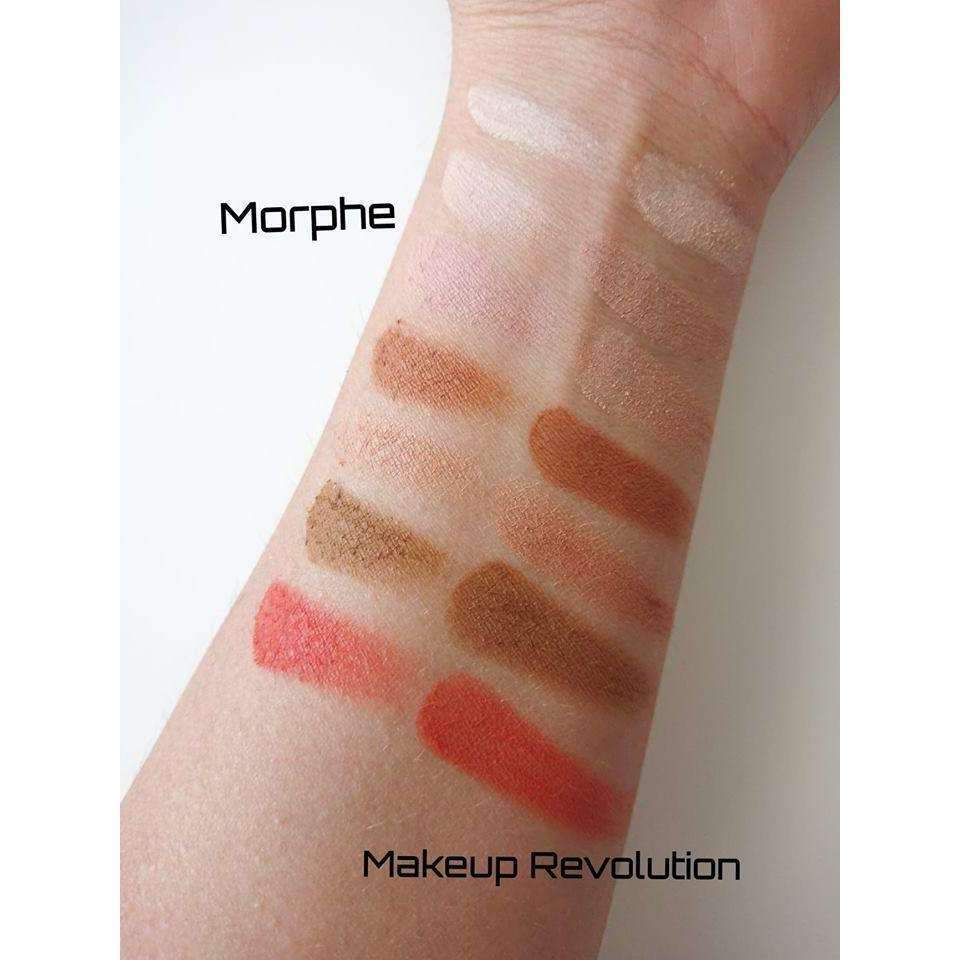 orabelca:Makeup Revolution HD Palette Matte Amplified 35 Inspiration