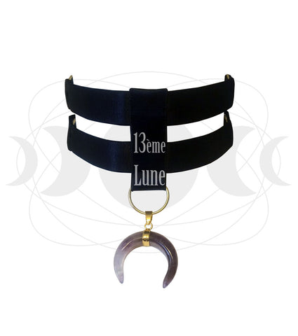 "Choker ""crescent moon"""