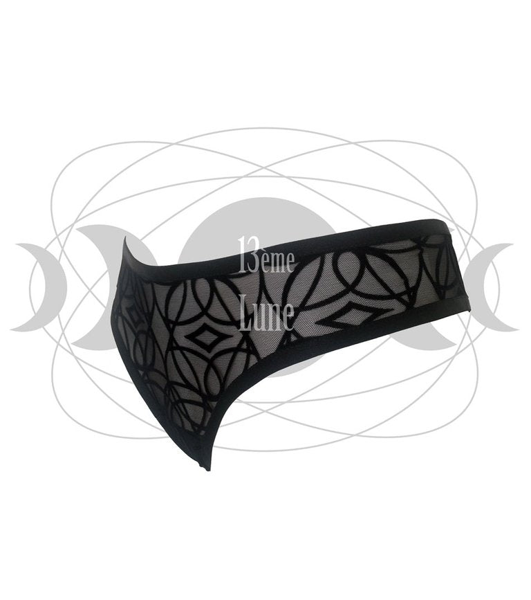 Shorty string Lotus de profil