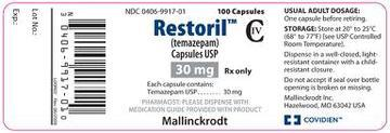 Buy RESTORIL temazepam (130 Pills)