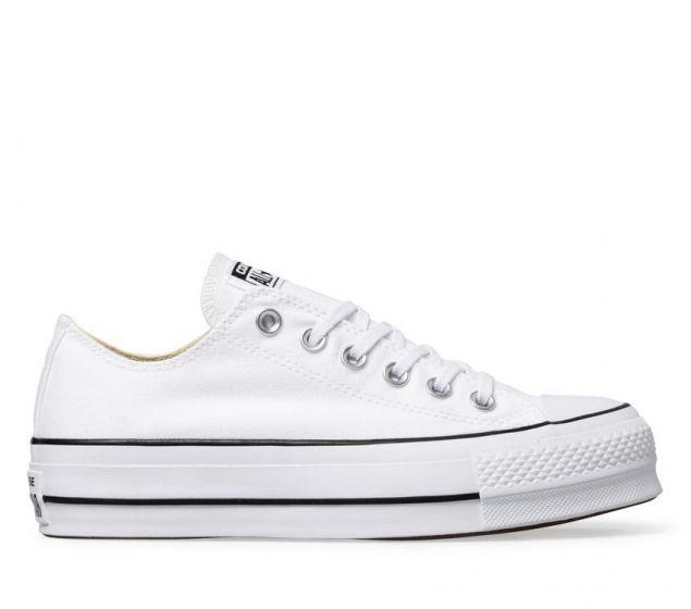Canvas Low White Lift
