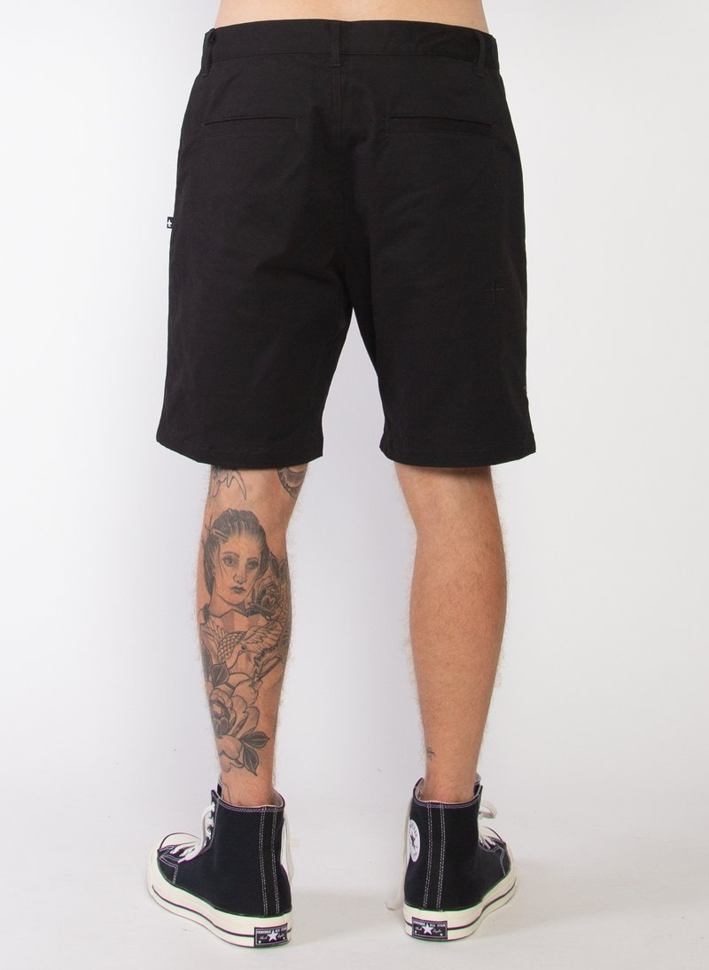 Perfect Chino Short Black