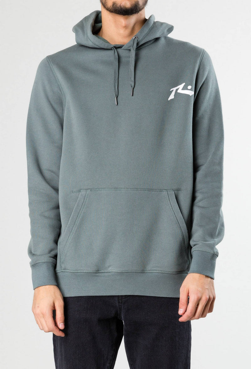Competition Hooded Fleece Boys Evergreen