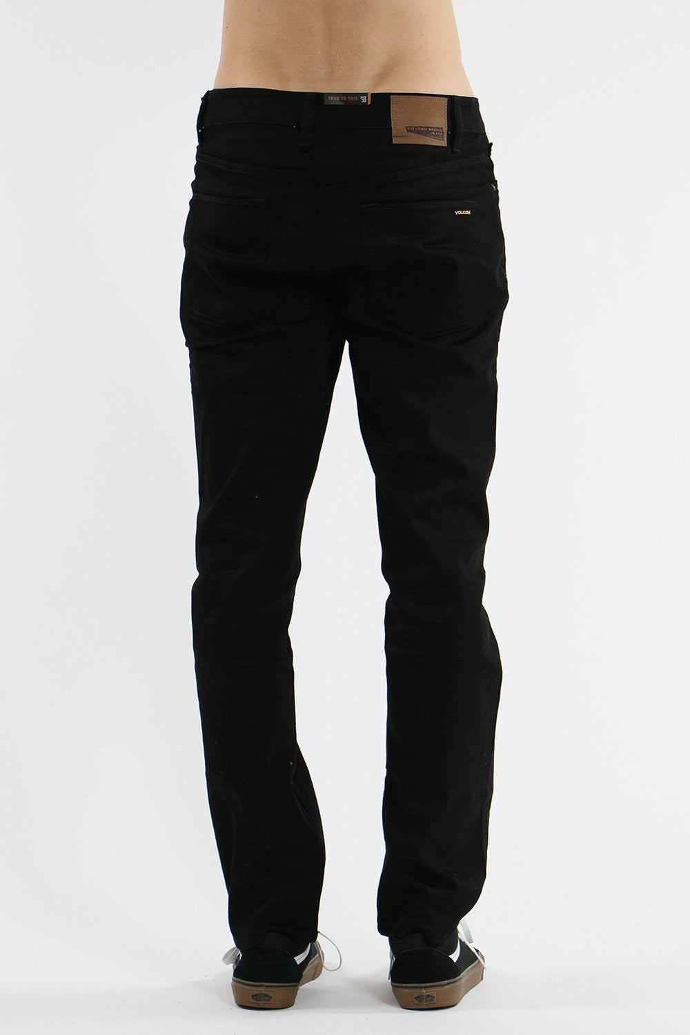 Solver Denim Jean Black