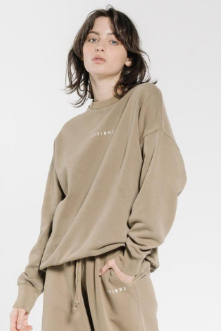 Naomi Hooded Cardigan Khaki