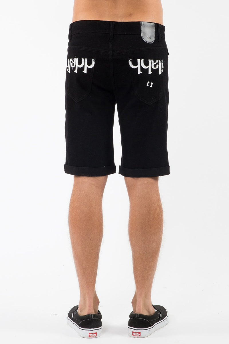 Capsize Straight Short Black