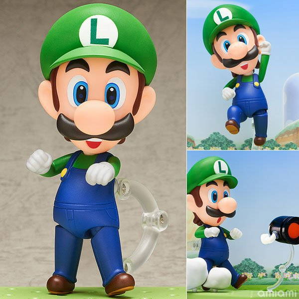 Mario Bros Luigi Action Figure