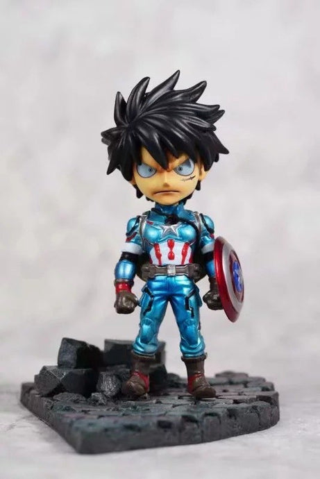 Luffy Captain America
