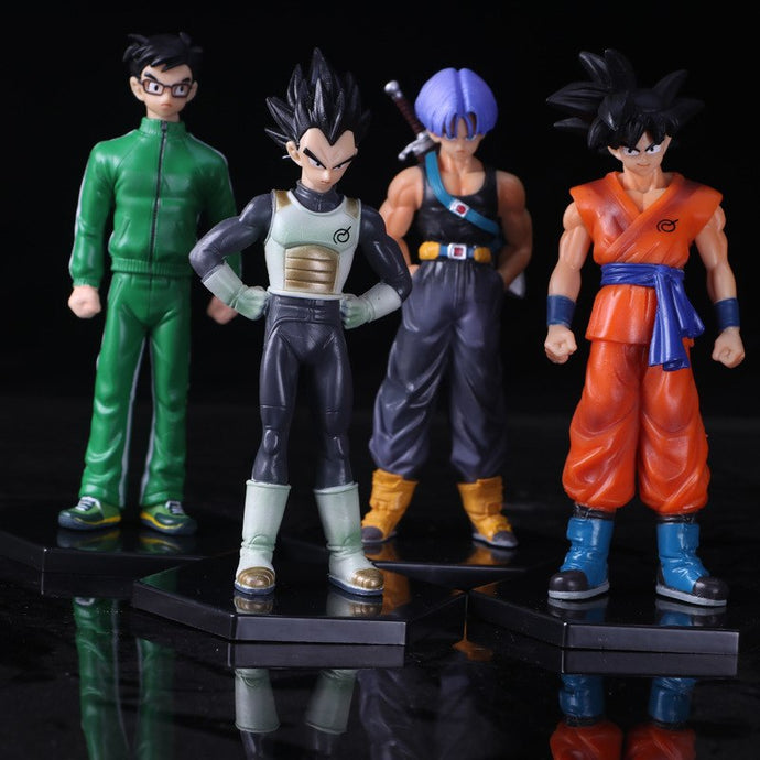 Dragon Ball Z Goku Vegeta Trunks Gohan