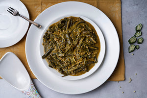 Bhindi Masala - Indian meal plan - The Cumin Club