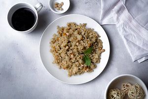 Mint Poha - Indian meal plan - The Cumin Club