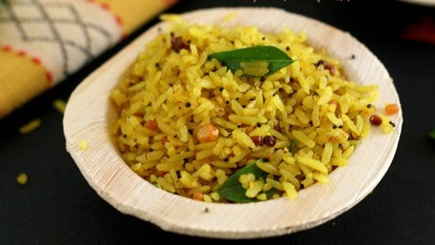 Puli Poha - Indian meal plan - The Cumin Club