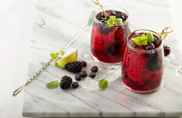 Blackberry Basil Spritzer
