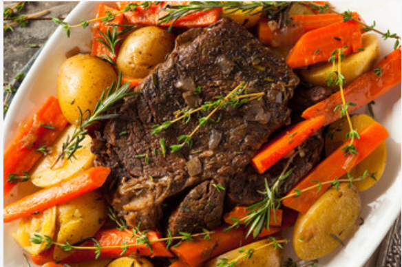 Balsamic and Olive Oil Pot Roast