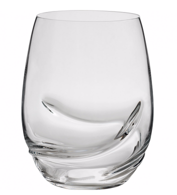 OXYGEN 17oz STEMLESS WINE GLASS  S/2