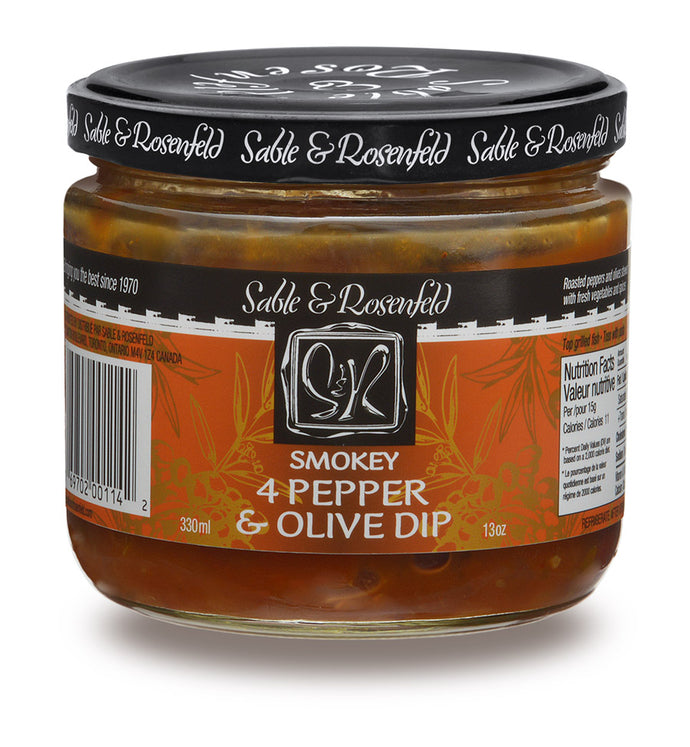 SMOKEY 4 PEPPER & OLIVE DIP