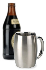 DOUBLE WALLED SS BEER MUG