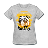 "Ladies ""Hello""  T-Shirt - Keyline Wear"