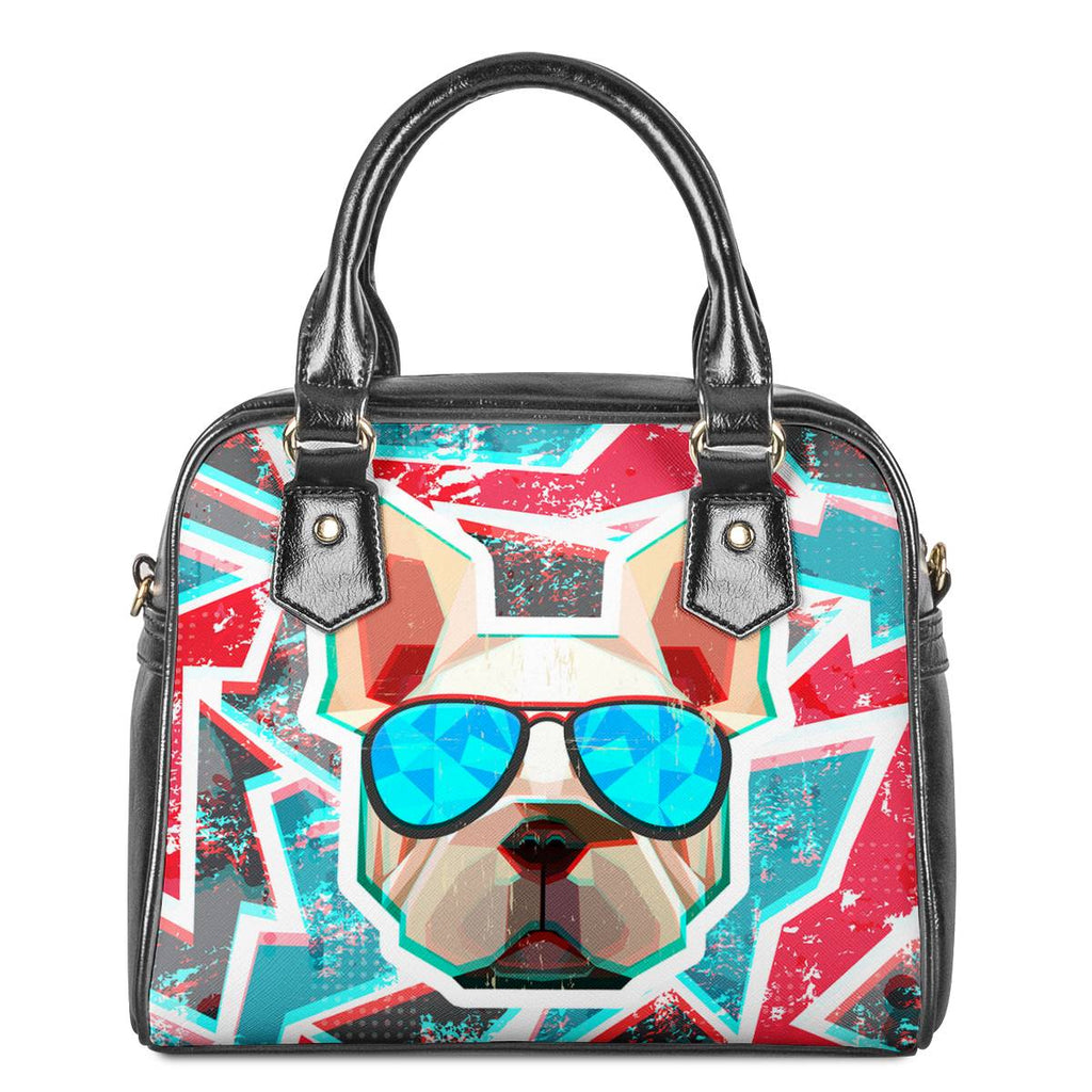 Dog Save The Queen -  Ladies Shoulder Handbag - Keyline Wear