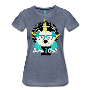"Ladies ""Born 2 Chill"" T-Shirt - Keyline Wear"