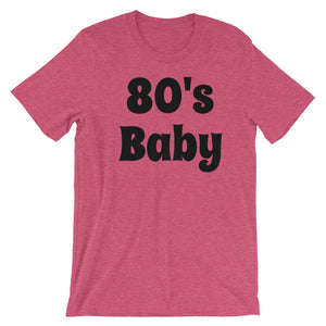 """80's Baby"" Short-Sleeve Men's T-Shirt - Keyline Wear"